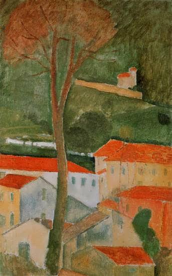 AmedeoModigliani-Landscape