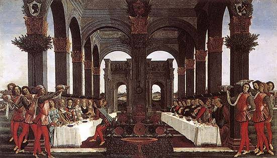 Botticelli_Theweddingbanquet