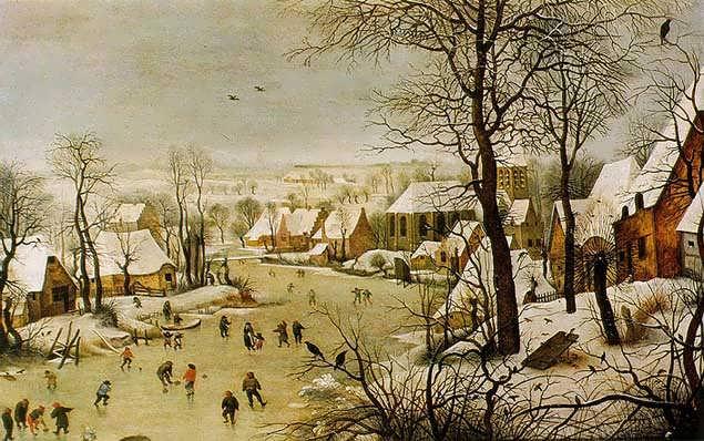 Bruegel-WinterLandscapewithaBirdTrap