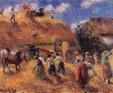 CamillePissarro-Harvest