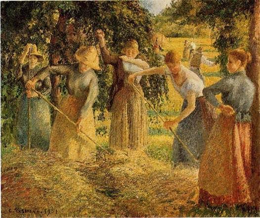 CamillePissarro-HarvestatEragny