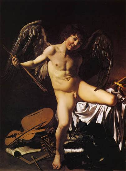 Caravaggio-Cupid1
