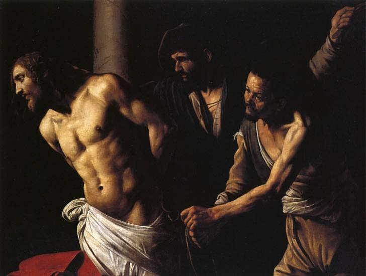 Caravaggio-FlagellationofChrist1