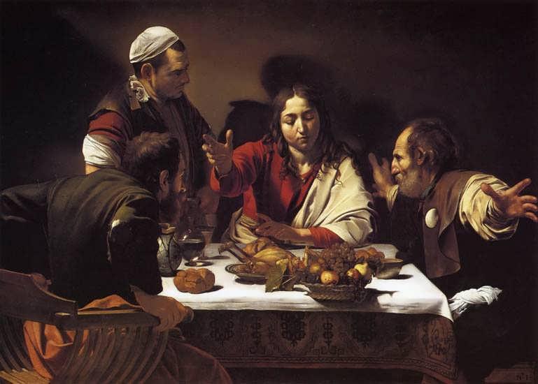 Caravaggio-SupperatEmmaus1
