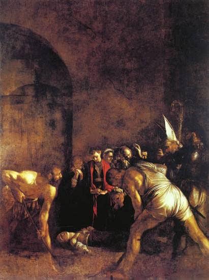 Caravaggio-TheBurialofStLucy1