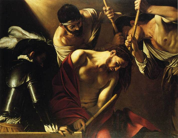 Caravaggio-TheCrowningwithThorns1