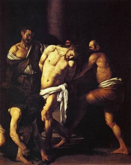 Caravaggio-TheFlagellationofChrist1