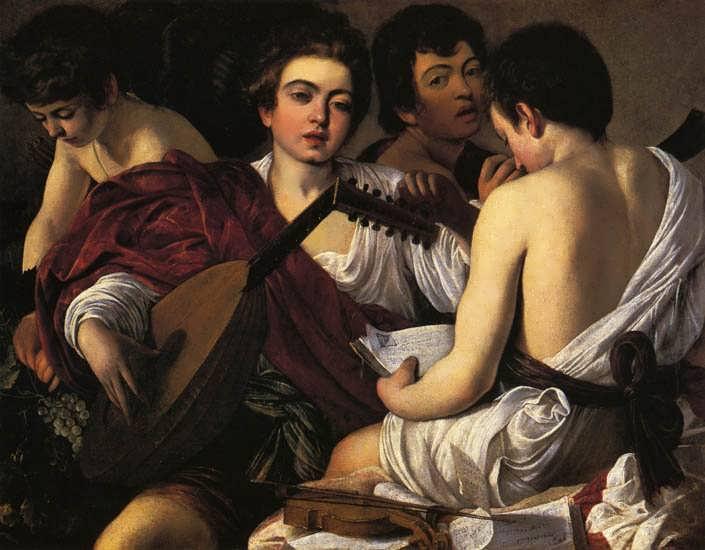 Caravaggio-TheMusicians1
