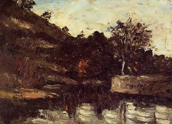 Cezanne-ABendintheRiver
