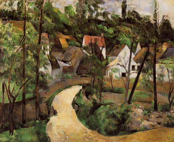 Cezanne-ATurnintheRoad