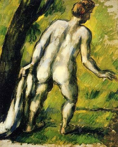 Cezanne-BatherfromtheBack1