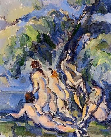 Cezanne-Bathers