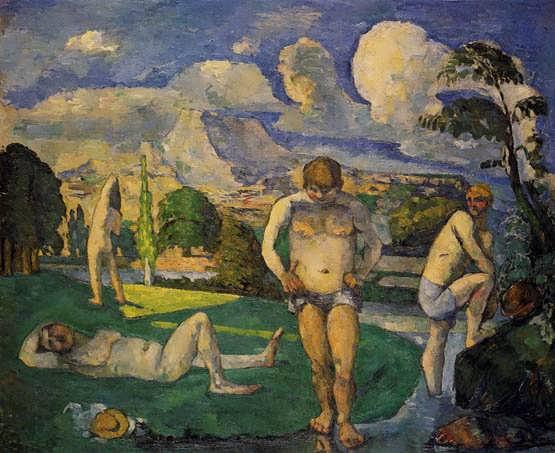 Cezanne-BathersatRest