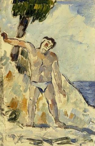 Cezanne-BatherwithArmsSpread