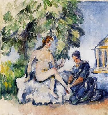 Cezanne-Bathsheba