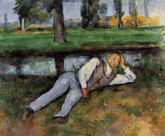 Cezanne-BoyResting1