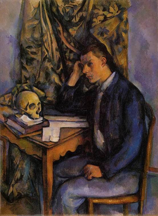Cezanne-BoywithSkull1