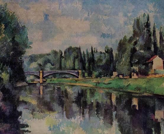 Cezanne-BridgeovertheMarne