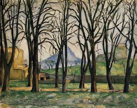 Cezanne-ChestnutTreesattheJasdeBouffan