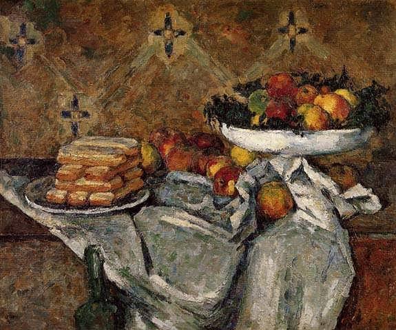 Cezanne-CompotierandPlateofBiscuits