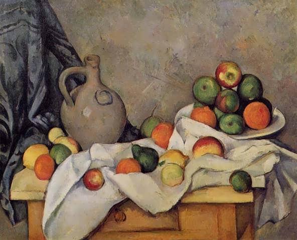 Cezanne-CurtainJugandFruit