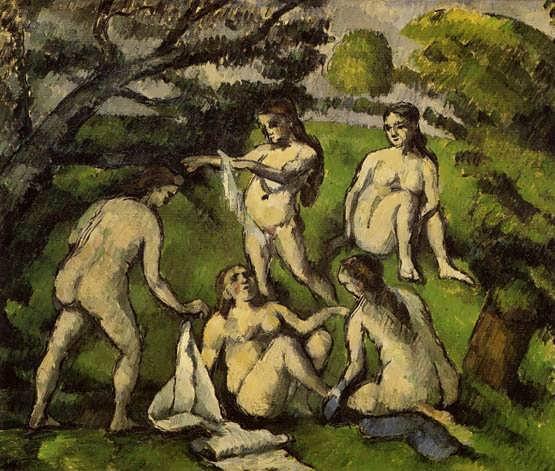 Cezanne-FiveBathers