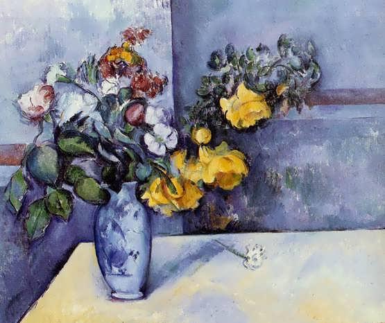 Cezanne-FlowersinaVase