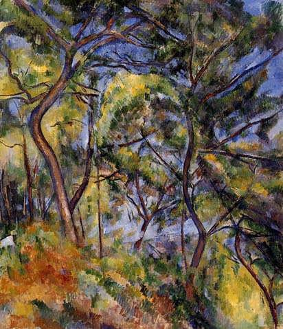 Cezanne-Forest