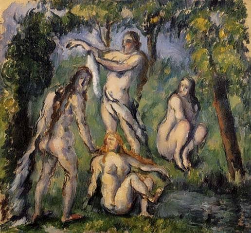 Cezanne-FourBathers