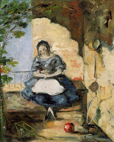 Cezanne-Girl
