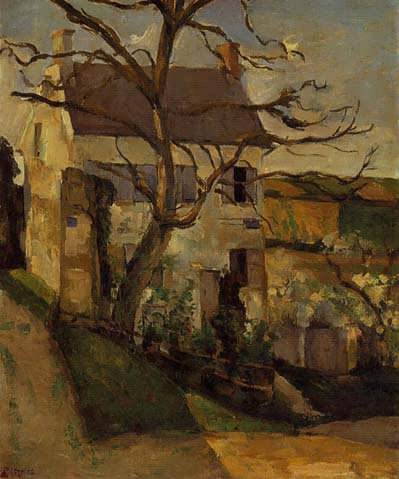 Cezanne-HouseandTreetheHermitagePontoise