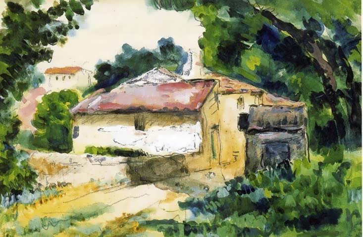 Cezanne-HouseinProvence
