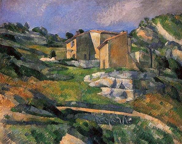 Cezanne-HousesinProvence