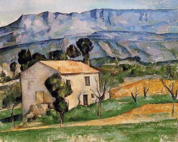 Cezanne-HousesinProvencenearGardanne