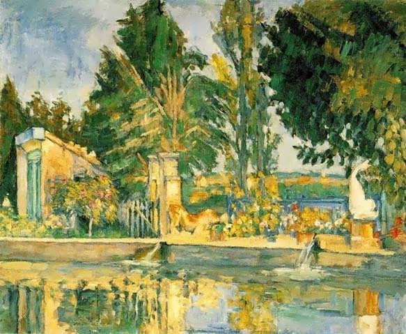 Cezanne-JasdeBouffanthePool