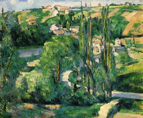 Cezanne-LaCoteduGaletatPontoise