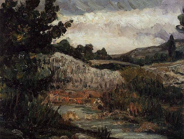 Cezanne-Landscape-MountSaint-Victoire