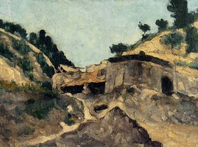 Cezanne-LandscapewithWatermill