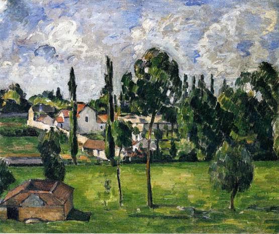 Cezanne-LandscapewithaCanal