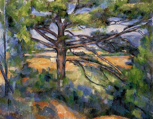Cezanne-LargePineandRedEarth