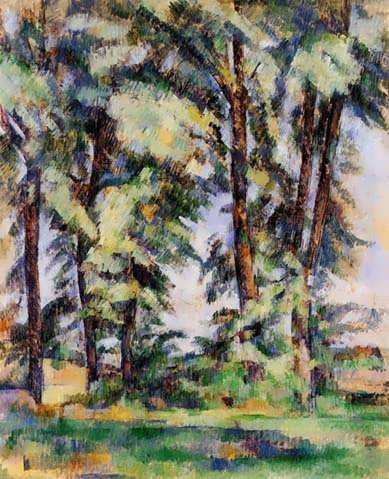 Cezanne-LargeTreesatJasdeBouffan