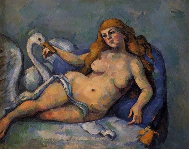 Cezanne-LedaandtheSwan1