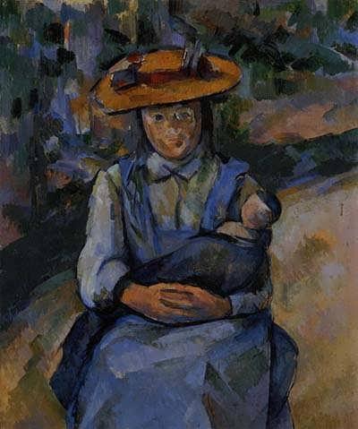 Cezanne-LittleGirlwithaDoll