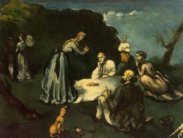 Cezanne-LuncheonontheGrass