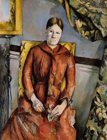 Cezanne-MadameCezanneinaYellowChair