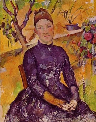 Cezanne-MadameCezanneintheConservatory1