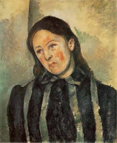 Cezanne-MadameCezannewithUnboundHair