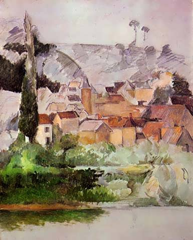 Cezanne-MedanChateauandVillage