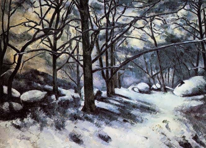 Cezanne-MeltingSnowFontainbleau