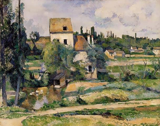 Cezanne-MillontheCouleuvreatPontoise